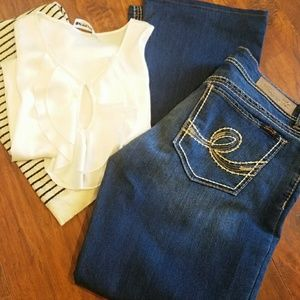 Seven Blue Dark Wash Jeans